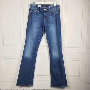 Women's GAP Sexy Boot Medium Wash Jeans 29